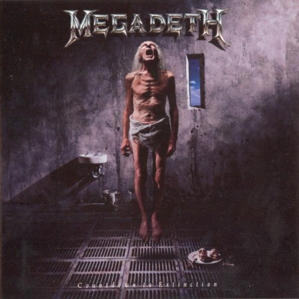 MEGADETH – Countdown To Extinction (CD-1992, Capitol Records)