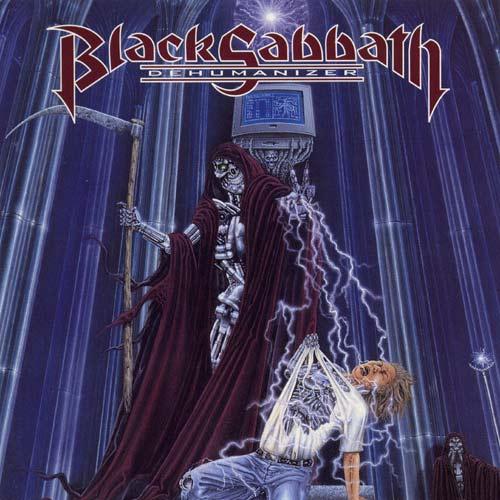 BLACK SABBATH – Dehumanizer (CD-1992, I.R.S. Records)