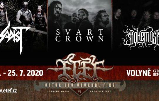 Volyňský ETEF open air (24.-25. 7. 2020) oznamuje první kapely příštího ročníku a spouští předprodej!