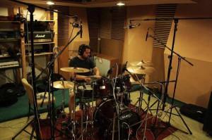 Einsk nahrává bicí