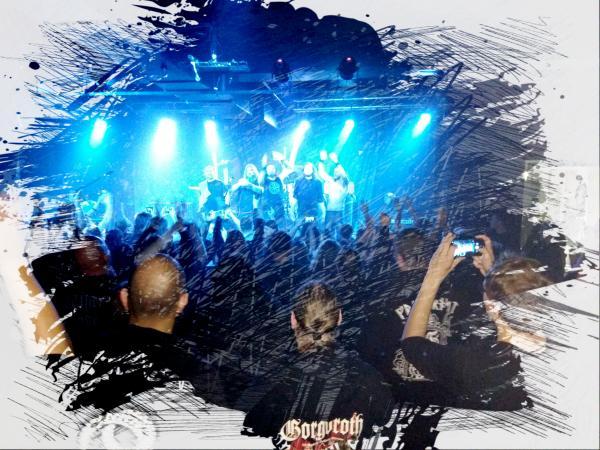 ENSLAVED, ZATOKREV, ADIMIRON - 3. 12. 2017, Praha - Nová Chmelnice
