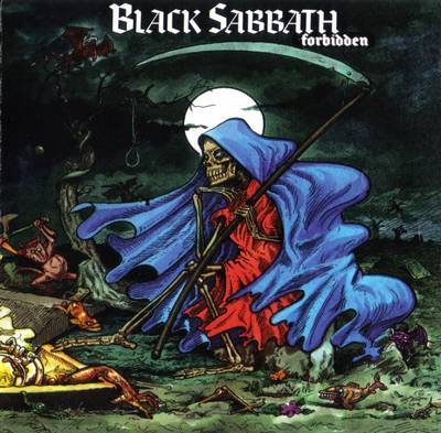 BLACK SABBATH - Forbidden (CD-1995, I.R.S. Records)