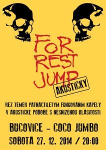Forrest Jump akusticky plakát  final Bučo