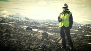 Gory při práci na Islandu