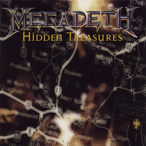 MEGADETH – Hidden Treasures (CD-1995, Capitol Records)