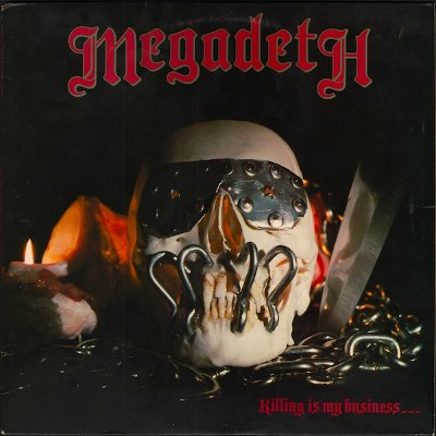 MEGADETH – Killing Is My Business... And Business Is Good! (LP-1985, Combat)