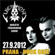 LACRIMOSA - 27.9. 2012 - Rock Café, Praha