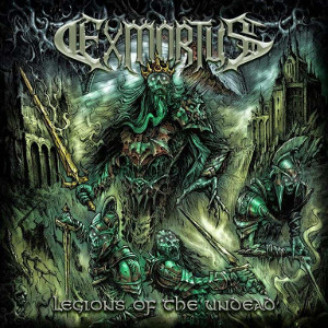 EXMORTUS - Legions of the Undead (CD/EP – 2019, M-Theory Audio)