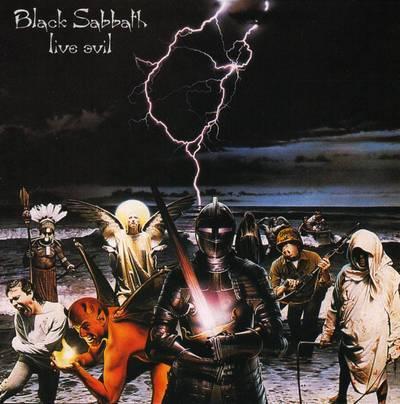 BLACK SABBATH – Live Evil (2LP-1982, Warner Bros. Records)