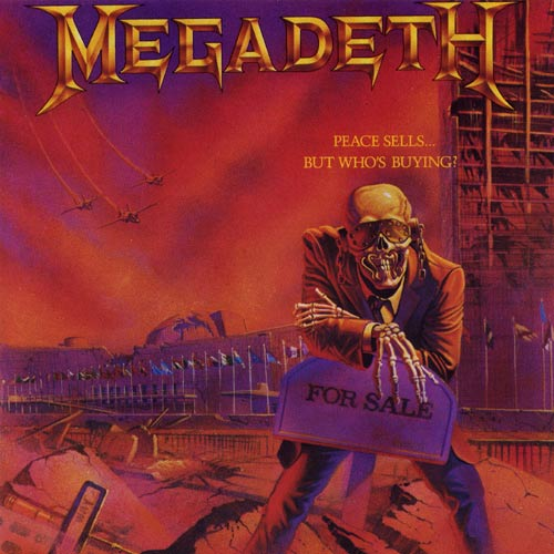 MEGADETH – Peace Sells... But Who´s Buying? (LP-1986, Capitol Records)