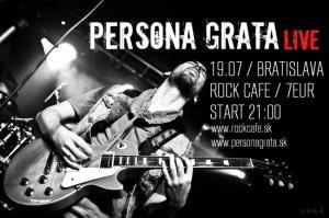 Persona grata - poster Bratslava - Rock C
