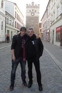 R.X. Thámo a Petr Štěpán v Jihlavě