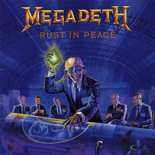 MEGADETH – Rust In Peace (LP-1990, Capitol Records)