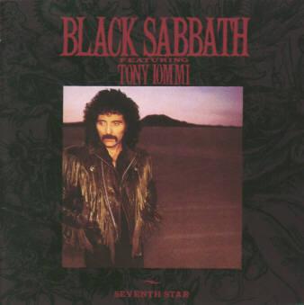 BLACK SABBATH – Seventh Star (LP-1986, Warner Bros. Records)