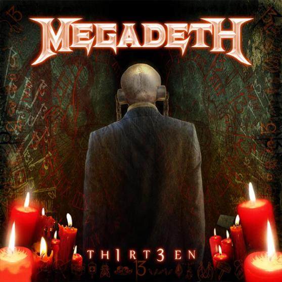 MEGADETH – Th1rt3en (CD-2011, Roadrunner Records)