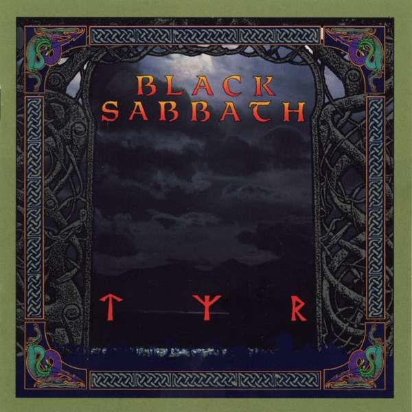 BLACK SABBATH – Tyr (LP-1990, I.R.S. Records)