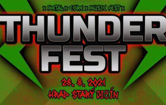 Thunder Festival 2021 - Hrad Starý Jičín
