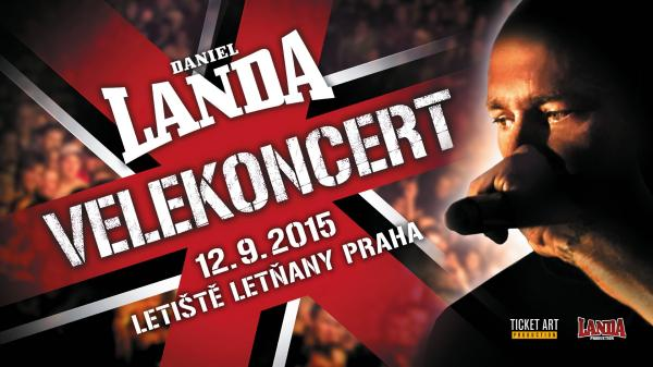 VELEKONCERT DANIELA LANDY - 12. 9. 2015 (letiště Kbely - Praha)